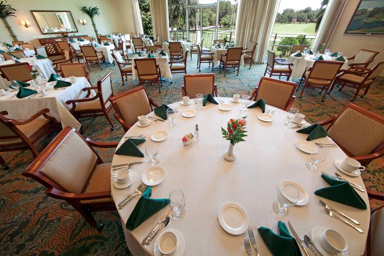 Lone Palm Banquet room