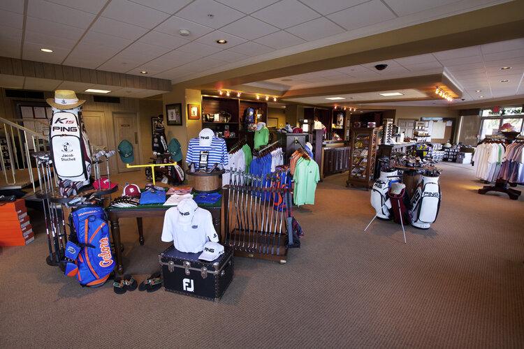 Lone Palm Golf Club pro shop